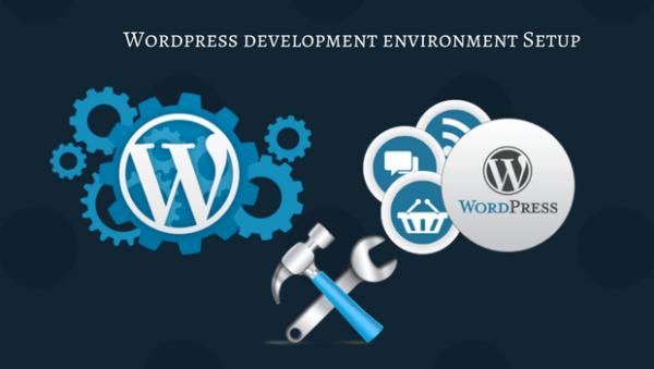 Wordpress development environment 600x339 - Hướng dẫn tự thiết kế website không cần dùng code cho người mới bắt đầu từ A-Z