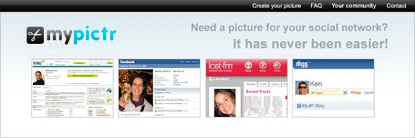 ảnh chụp màn hình hồ sơ cá nhân mypictr
