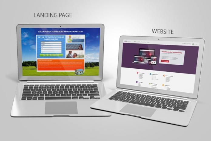 phan biet landing page va website - Hướng dẫn tự thiết kế website không cần dùng code cho người mới bắt đầu từ A-Z