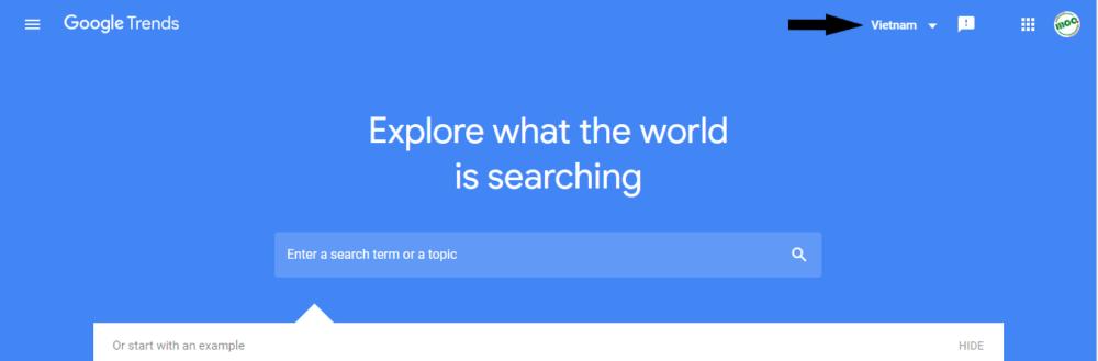Giao Dien Google Trends
