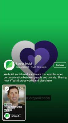igtv sprout screen 1 221x400 - Những điều cơ bản: Instagram TV là gì?