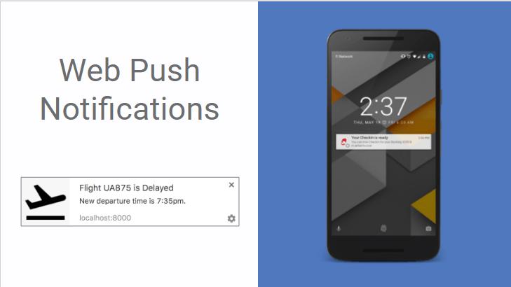 Progressive Web Apps notifications