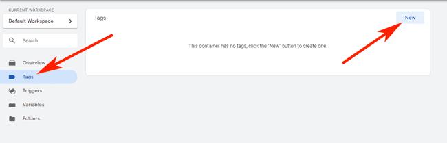 Hướng dẫn sử dụng Google Tag Manager (GTM) 23 - Create new tag