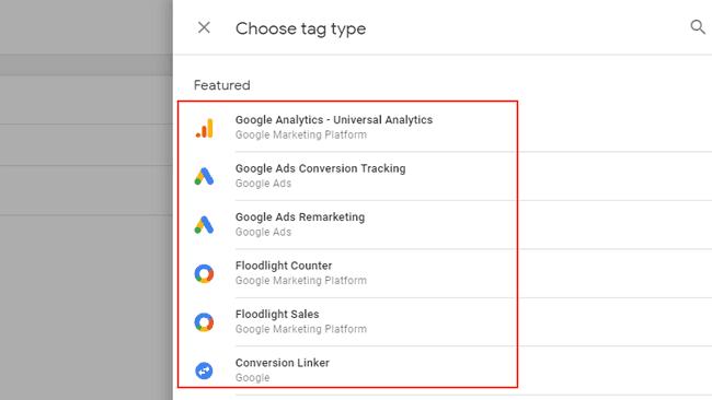 Hướng dẫn sử dụng Google Tag Manager (GTM) 3 - GTM Tag types
