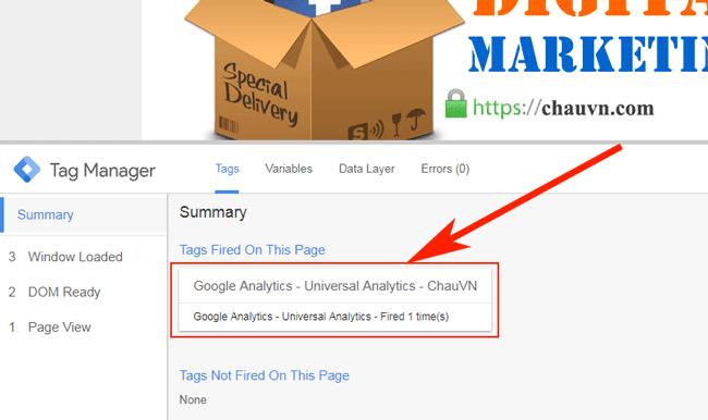 Hướng dẫn sử dụng Google Tag Manager (GTM) 33 - GTM preview mode