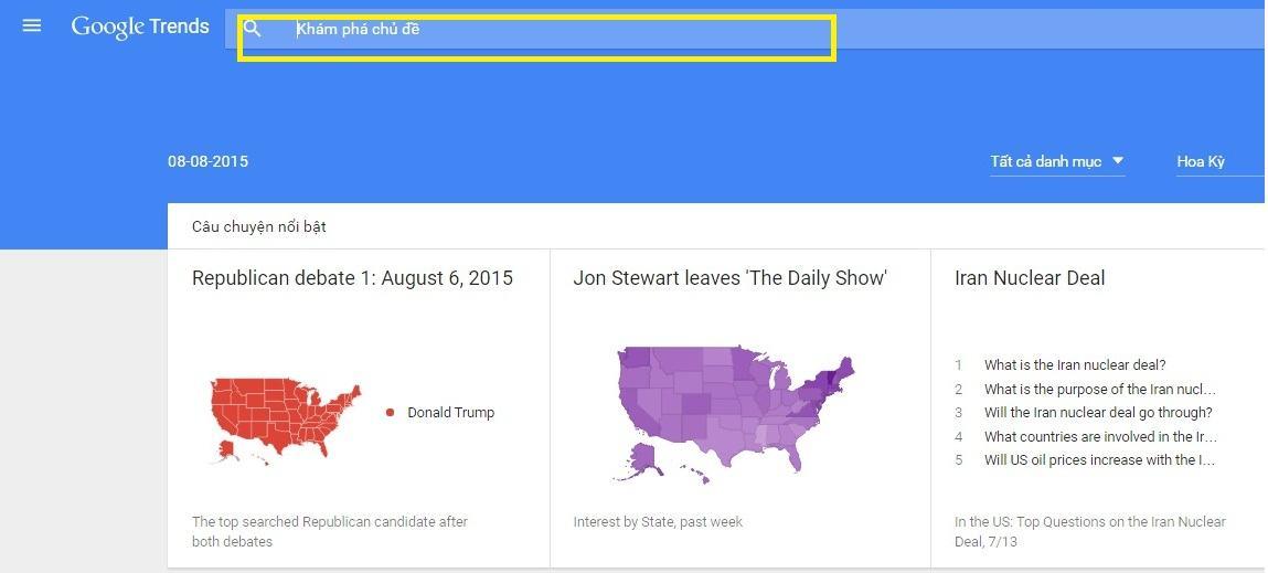 Google Trend là gì và dùng để làm gì?