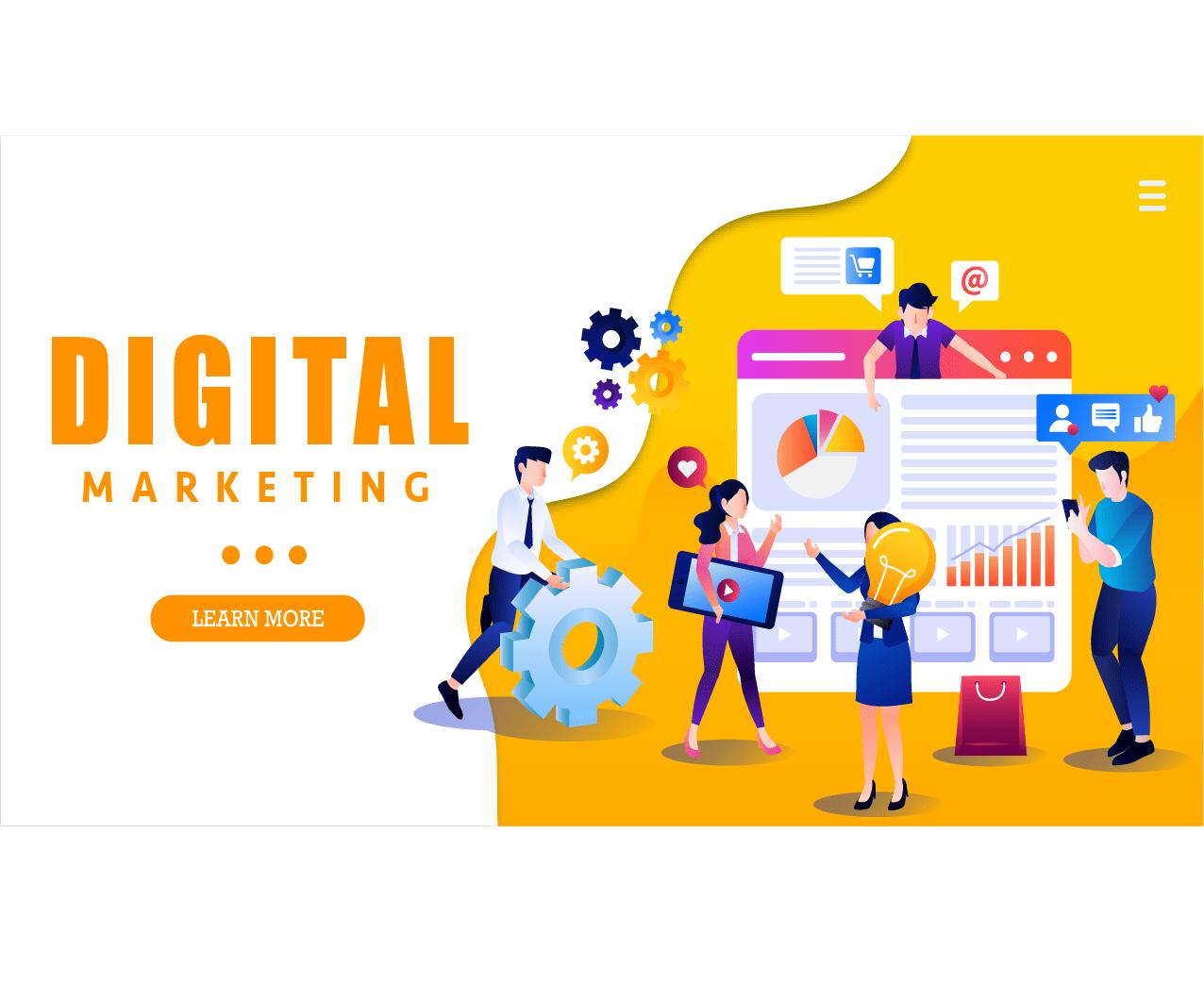 Digital Marketing là gì ?Nền tảng Digital nào sẽ giúp doanh nghiệp ...