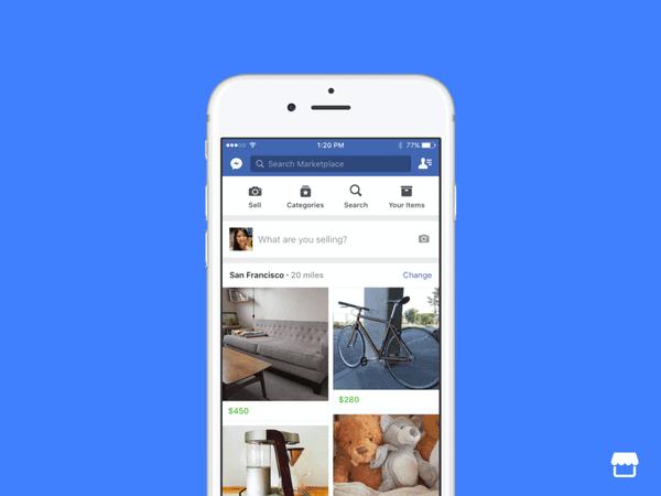 Facebook trình làng Marketplace, dấu chấm hết cho các trang rao ...