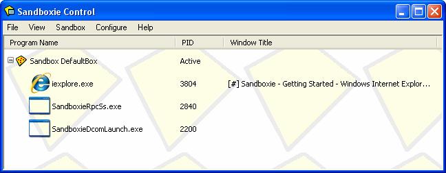Sandboxie - Download the latest version of Sandboxie