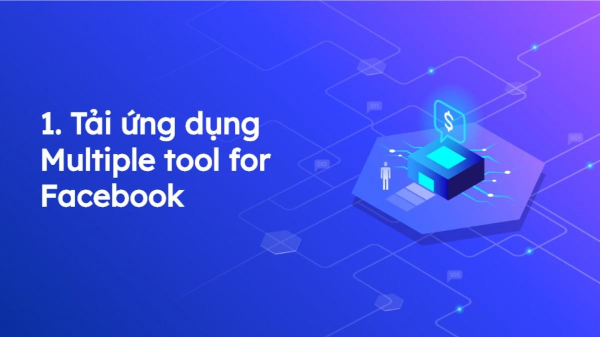 Tải ứng dụng Multiple tool for Facebook để bật khiên bảo vệ Avatar Facebook