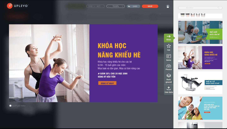 lựa chọn ý tưởng thiết kế quảng cáo