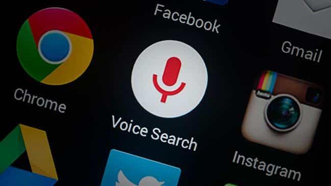 Tìm kiếm bằng giọng nói