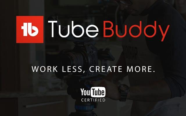 phần mềm quản lí kênh youtube Youtube Tubebuddy