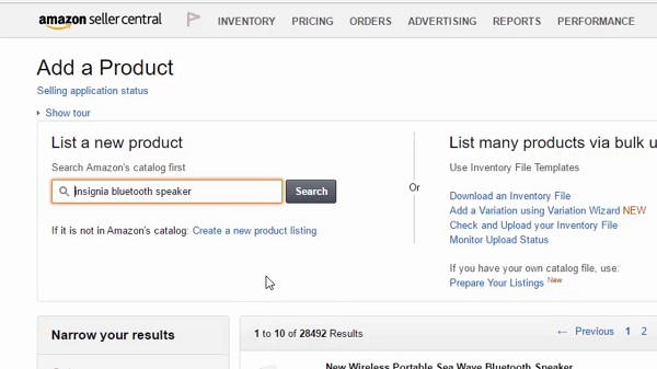 Các bước bán hàng trên Amazon