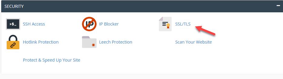 Cài đặtchứng chỉ SSL trên domain