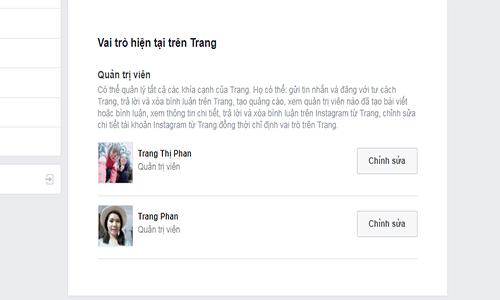 Cách xóa quyền quản trị trênfanpagekênh Facebook