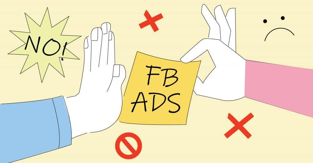 Làm thế nào khi quảng cáo facebook không được phê duyệt