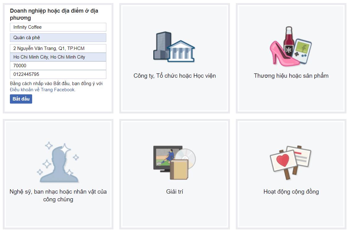 Cách tạofanpagebánhàng chuyên nghiệp trên Facebook