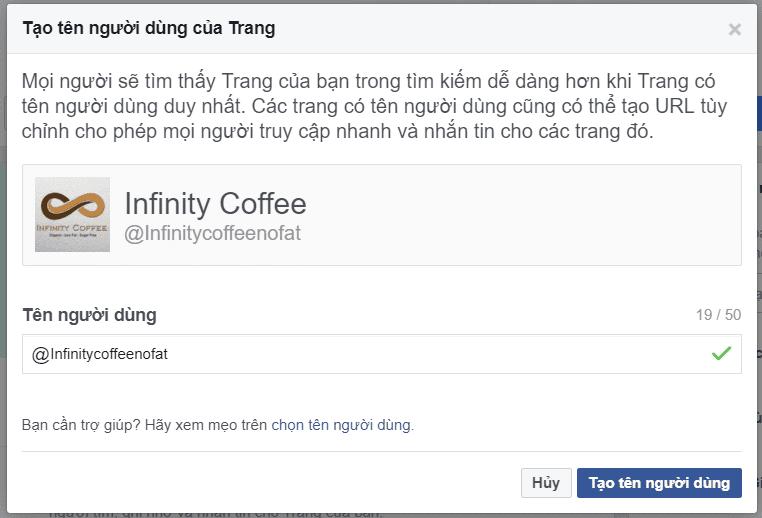 Tạothông tinchofanpagebánhàngtrênkênh Facebookhiệu quả