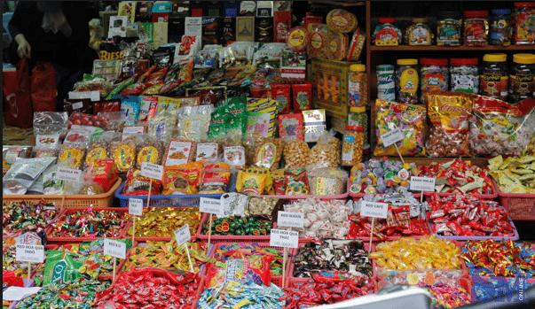 Kinh doanh bánh kẹo - đặc trưng ngày Tết