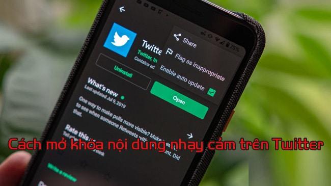 Hướng Dẫn Cách Mở Khóa Nội Dung Nhạy Cảm Trên Twitter - ATP Media