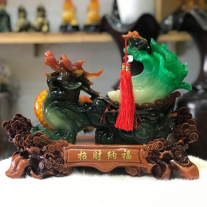 Tỳ Hưu Phong Thủy Kéo Bắp Cải Xanh Kích Thước Nhỏ - Vật phẩm phong thủy  khác Nhãn hiệu OEM | SieuThiDienMayXanh.com