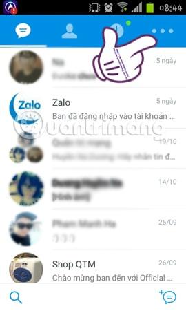 Hình 1 của Hướng dẫn ẩn số điện thoại, ẩn thông tin cá nhân trên Zalo