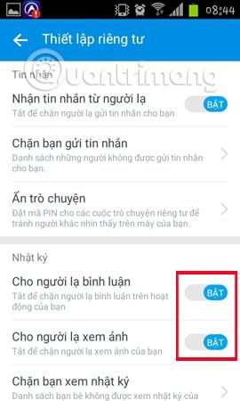 Hình 10 của Hướng dẫn ẩn số điện thoại, ẩn thông tin cá nhân trên Zalo