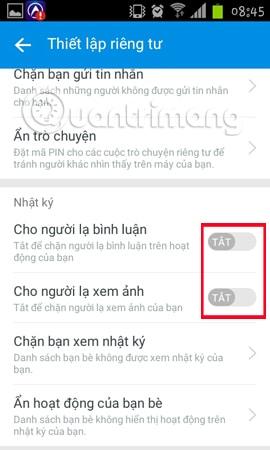 Hình 11 của Hướng dẫn ẩn số điện thoại, ẩn thông tin cá nhân trên Zalo