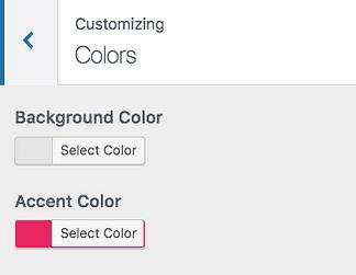 màu sắc tùy biến