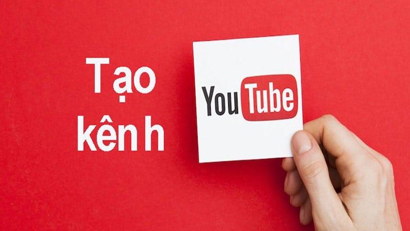 Tạo kênh youtube