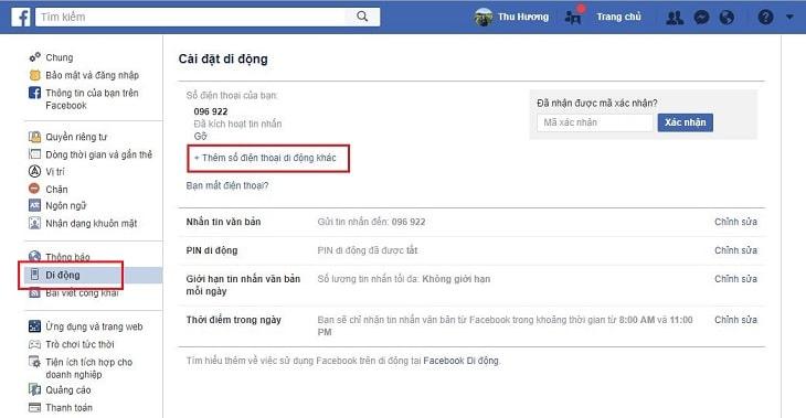 Kết quả hình ảnh cho nút mobile điện thoại trên facebook pc