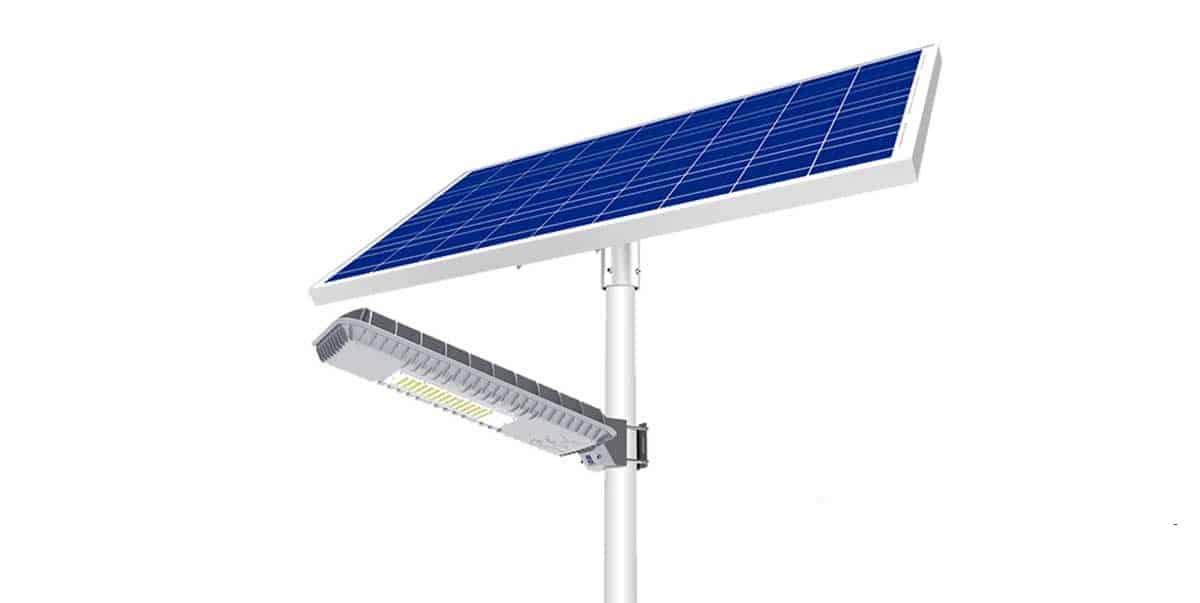 Đèn năng lượng mặt trời cao cấp Blue Carbon