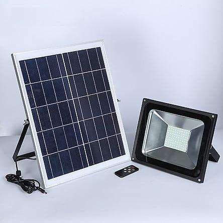 Đèn led pha chiếu sáng năng lượng mặt trời GIVASOLAR GV-FL-P1 | Tiki