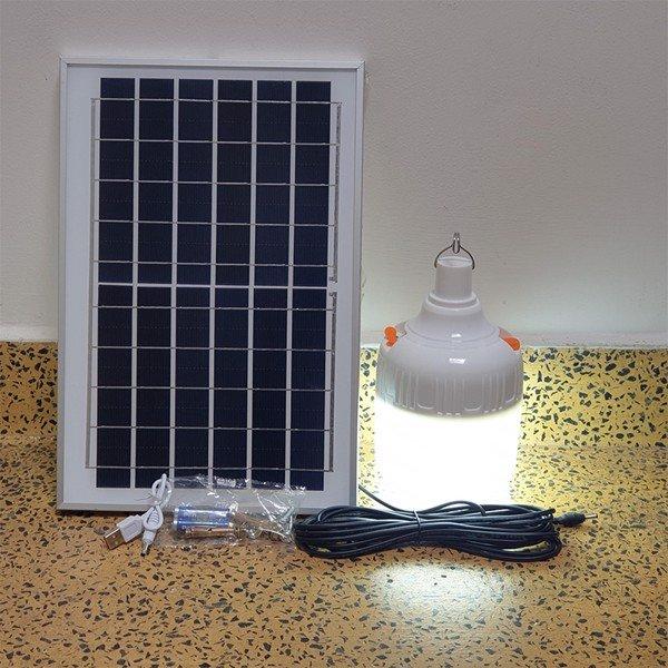 Đèn Bulb Led Năng Lượng Mặt Trời 90W JD90 Solar Light Pin 8000 mAh Sạc Điện Thoại, Tiết kiệm điện, bền bỉ theo thời gian - Đèn ngoài trời Hãng OEM | NoiThatThanhDo.com