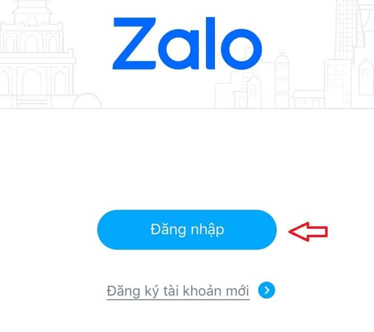 Cách lấy lại mật khẩu Zalo (1)