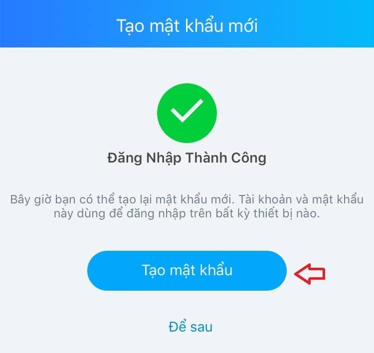 Cách lấy lại mật khẩu Zalo (5)
