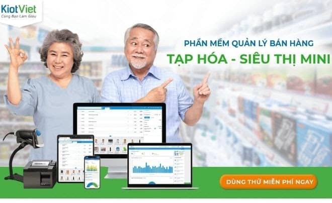 Phầm mềm quản lý bán sản phẩm KiotViet