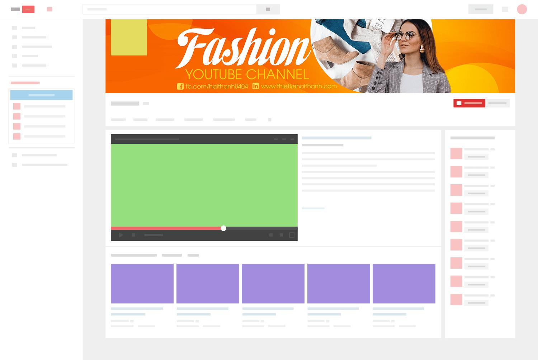 Cùng xem xét thêm những mẫu ảnh bìa Youtube sáng tạo và đạt kết quả tốt được ưa chuộng nhất.