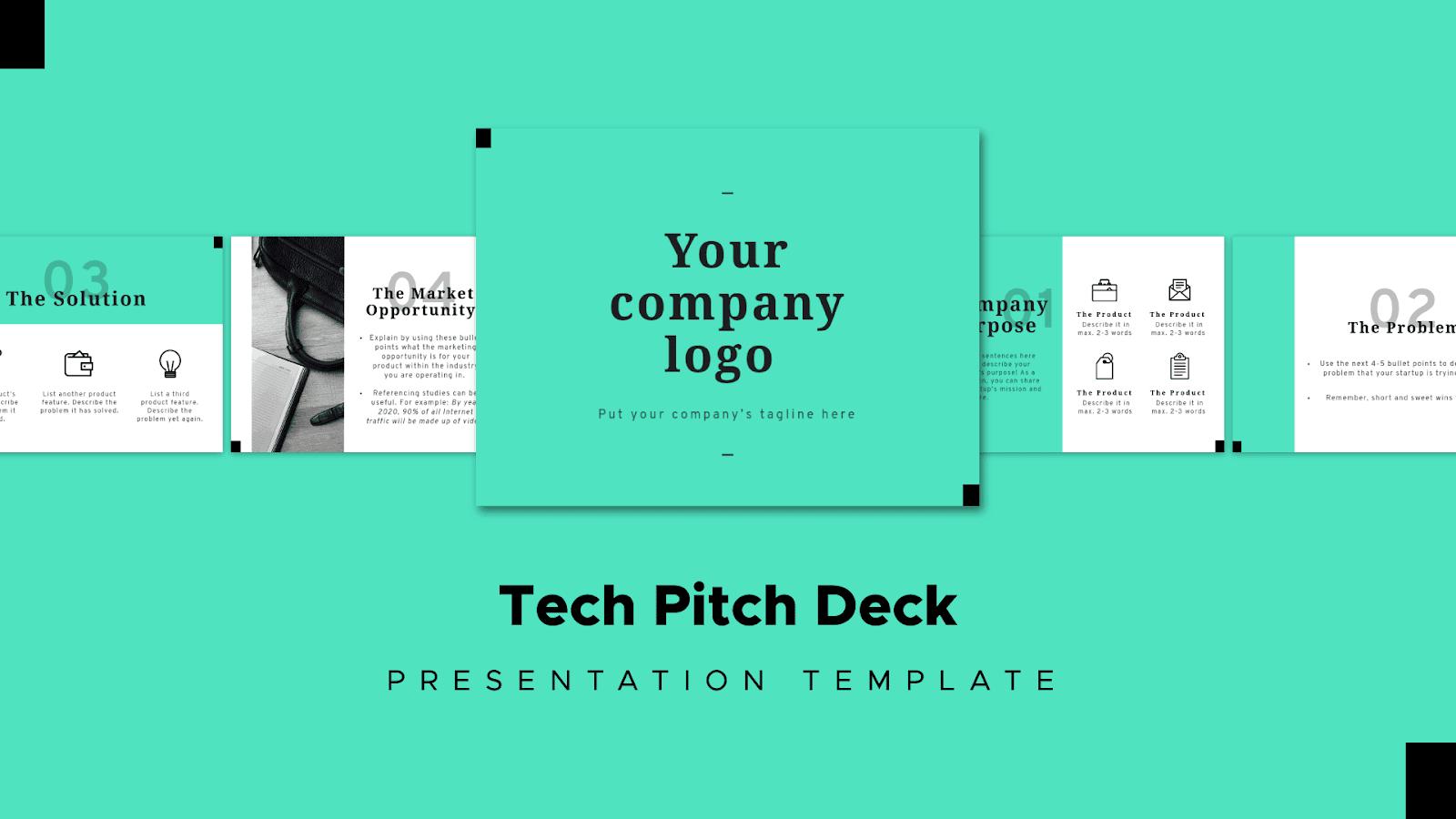 Pitch deck Mixpanel