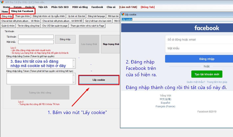 lấy cookie facebook 2