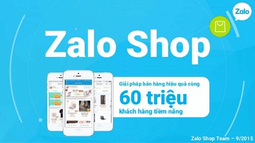 Zalo shop