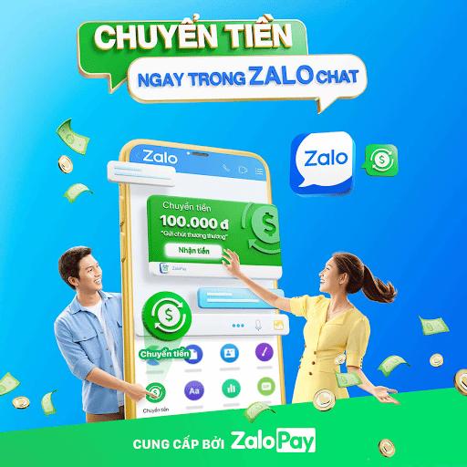 Zalo pay Tiki 1